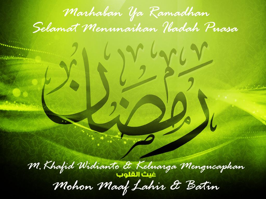 Marhaban Yaa Ramadhan  M.K Widiantou0027s Blog